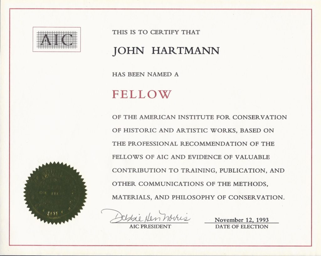 AIC Fellow